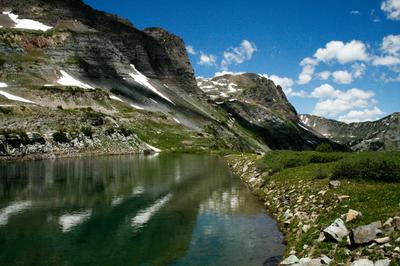 Blue Lake, Raggeds Wilderness, CO
